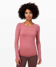 Lululemon Women's Briar Rose Swiftly Tech Long Sleeve 2.0 Top - Size 6 NEW!