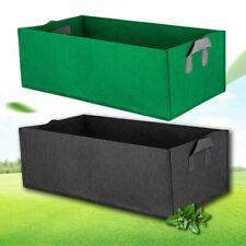 Square Fabric plant Grow Bag Pot Bags Garden Planting Bags Handles for Veg