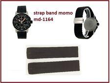CINTURINO/STRAP MOMO DESIGN MD1164-01BKBK-RB Pilot Pro Chrono