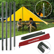 2Pcs Naturehike Camping Tent Pole Rod Awning Canopy Tarp Sun Shelter Support DY