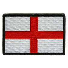 Embroidered England English Flag St George's Cross Iron on Patch Biker Patch