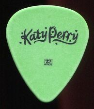 KATY PERRY 2011 California Dreams Tour Guitar Pick!!! custom concert stage GREEN