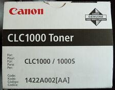 CANON CLC1000 TONER 1422A002 [AA] GENUINE 640g  BLACK TONER for CLC1000 CLC1000S