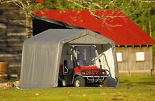NEW! ShelterLogic 6x12x8 Portable Garage Shed Canopy Car ATV Motorcycle Tractor
