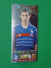 N°152 ALAIN GIRESSE PANINI FOOTBALL CHAMPIONS ! 98 ALBUM VICTOIRE FRANCE 1998
