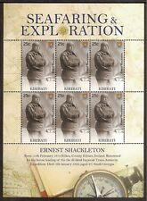 KIRIBATI 2009 SEAFARING ERNEST SHACKLETON Antarctic Explorer Sheet 6 values MNH