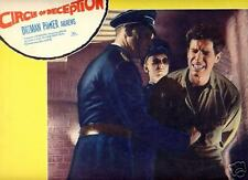 Lobby Card 1960 CIRCLE OF DECEPTION B Dillman punched