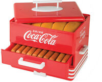 Hot Dog Warmer Steamer Cooker Vintage Retro Electric Bun Warmer Picnic BBQ
