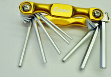 8 pc Pocket Allen Hex Folding Wrench Set 7/32 3/16 5/32 9/64 1/8 7/64 3/32 5/64