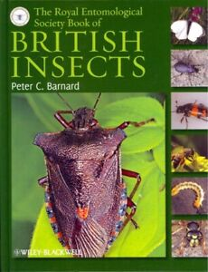 Royal Entomological Society Book of British Insects, Hardcover by Barnard, Pe...