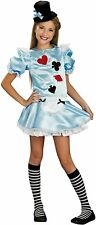 Rubie's Girls Tween Alice Costume Size Medium 2 - 4
