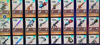 Fortnite STW 130 Weapons - Pick Any 50x