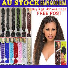 SYNTHETIC HAIR DREADLOCKS KANEKALON JUMBO ULTRA BRAID HAIR EXTENSION X-PRESSION