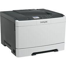 Lexmark CS410dn, Farblaserdrucker, weiß
