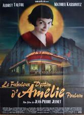 AMELIE POULAIN - STYLE B - TAUTOU / PARIS CAFE - ORIGINAL LARGE FRENCH POSTER