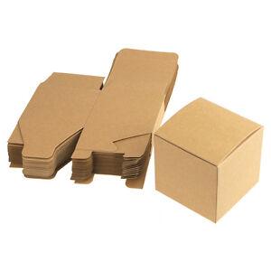 Cube Paper Gift Box Favor Boxes, 24-Piece