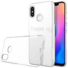 Funda Nillkin Nature para Xiaomi Mi8 Gel Antideslizante Transparente Clear View