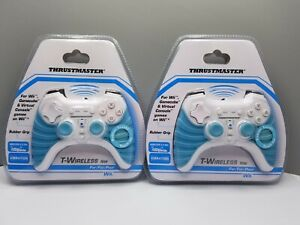 Lot of 2 Thrustmaster T-Wireless NW Controllers For Wii