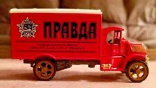 "Matchbox 1920 Mack AC Truck ""Pravda"" 4"" Diecast ""Power Of The Press"""