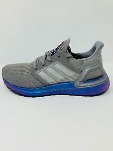Women's Adidas Ultraboost 20 Boost Dash Grey Blue Violet Purple Size 6,7,7.5,8