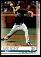 (15) 2019 Topps Series 2 15-Card Base Lot KYLE WRIGHT Braves Rookie RC #473