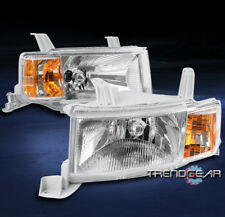 FOR 2004 2005 2006 SCION XB CRYSTAL STYLE REPLACEMENT HEADLIGHT HEADLAMP CHROME