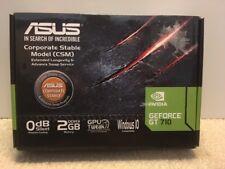 Asus NVIDIA GeForce GT 710 2GB DDR3 DVI/HDMI PCI-Express Video Card