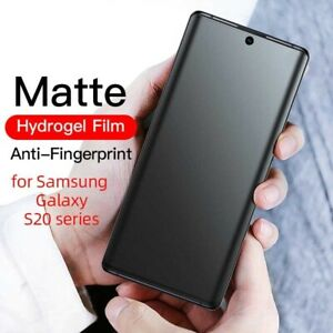 For Samsung Galaxy S20 Ultra S20 Plus Note 20 S9 Matte Hydrogel Screen Protector