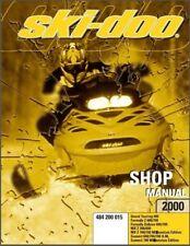 2000 Ski-Doo Tundra R Scandic Touring Formula MX Z Service Repair Shop Manual CD