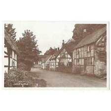 More details for elmley castle view in the village, rp postcard by percy simms, unused