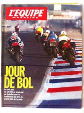 L'Equipe Magazine du 18/09/1993; Bol D'or/ Sampras/ Paul Azinger/ joe Montana