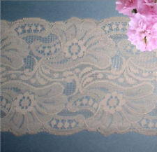"""Blush Nude Lace Trim 5 Yards x 5"""" CLOSEOUT Vintage M122V Added Trims ShipFree"""