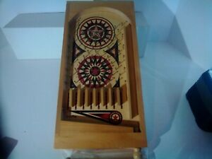 Schylling Table Top Pin Ball Pachinko Wooden Game