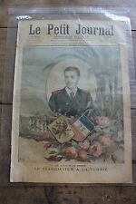 Petit journal shown No.268 1896 Tsarewitch à la Turbie Madagascar - 2