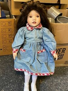 Artistic Doll Porcelain doll 58 cm. Top State