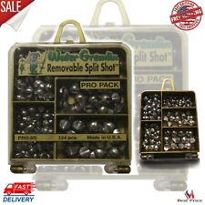 Removable Split Shot Pro Pack Very Soft Lead Into Precise Pieces Fishing Weights
