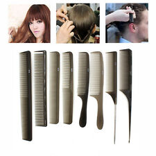 Pro 8pcs Hair Styling Accessory Hair Comb Barbers Hairdressing Cutting ToolsSet