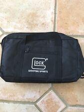 GLOCK OEM Single Gun Range Bag Embroidered Logo 1 pistol 4 mag Soft Shell