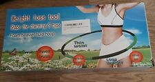 Brave Tarzan Weighted Exercise Detachable Hula Hoop, Massage Hoop New