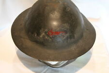 WW1 Canadian CEF Brodie Helmet 2nd Div Machine Gun Corps