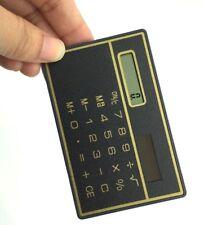 ☆ Calculatrice calculette solaire 85x55x2mm même dimention d'une carte de crédit