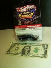 Hot Wheels BlackVW Volkswagen Fastback - Phil's Garage #39 - R/R M/M 2010