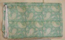 3 Yard New Paisley Print Indian 100% Cotton Running Loose Craft Sewing Fabric
