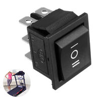 6 Pin 3 Position Boat On-Off-On Momentary Rocker Switch DPDT 16A 250V AC