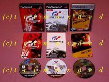 3xps2 _ GRAN TURISMO 3 A-spec & Gran Turismo 4 & Driv 3r-DRIVER 3 _ très bon Resp,