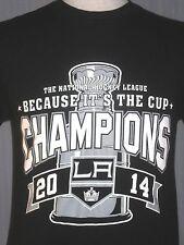 2014 Los Angeles LA Kings Adult Medium T-Shirt (M Stanley Cup Champs Champions)