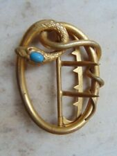 BOUCLE ANCIENNE FEMME ART NOUVEAU SERPENT OLD LOOP FOR WOMAN NEW ART BEGIN 20th
