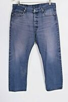 Vintage LEVI'S 501 XX Button Fly Hige Denim Jeans Mens Size 38x33