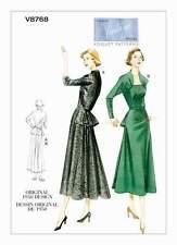 Patron De Couture Robe 1950 Gr. 38-44