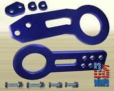 Blue JDM Aluminum Front+Rear Tow Hook Kit for MazdaSpeed 3 6 RX8 Miata RX7 FD
